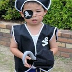 【ハロウィン仮装】子供におすすめの海賊に必要な小物を簡単に手作りする方法!