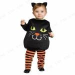 絶対着せたい!可愛すぎる赤ちゃん向けハロウィン仮装★黒猫の衣装を手作りしてみよう!