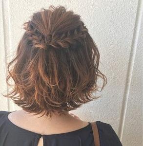 【卒業式の髪型】ミディアムヘアの小学生におすすめのヘアアレンジpart1