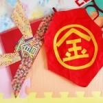【子供の日の簡単工作】折り紙に一工夫してオリジナル兜を作ろう