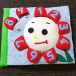 100均の材料で誰でも簡単に手作りできる布絵本の作り方!part3