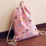【幼稚園入園準備】体操着袋を簡単に手作りする方法
