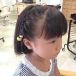 【幼稚園の卒園式・入園式】ショートの女の子におすすめのおしゃれヘアアレンジ