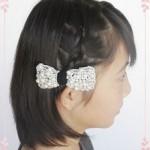【幼稚園の卒園式・入園式】ミディアムの女の子におすすめのおしゃれヘアアレンジpart1