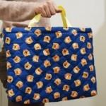 【幼稚園入園準備】レッスンバッグを簡単に手作りする方法