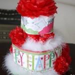 出産祝いは簡単に手作りできるおむつケーキを贈ってみようpart2