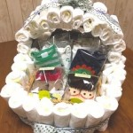 出産祝いは簡単に手作りできるおむつケーキを贈ってみようpart3