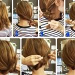 【ミディアムヘアのママ向け】時短で楽しめるヘアアレンジ集 part1