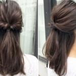 【ミディアムヘア】卒園式にふさわしいママのヘアスタイル!part1
