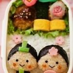 【幼稚園のお弁当】簡単に作れるお雛様弁当アイディアをご紹介!part3