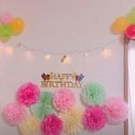 パーティーの飾り付けを工夫すると特別な空間を簡単に手作りできるpart3