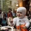 絶対着せたい!可愛すぎる赤ちゃん向けハロウィン仮装★お化けの衣装を手作りしてみよう!
